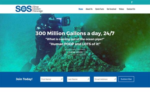 Stop Ocean Sewage