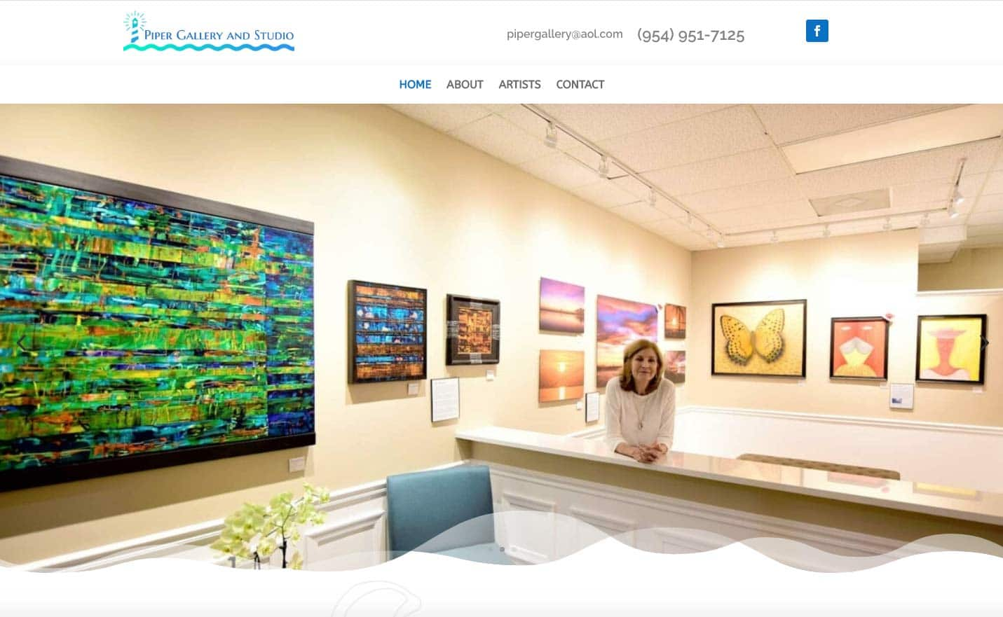 Piper Gallery Website
