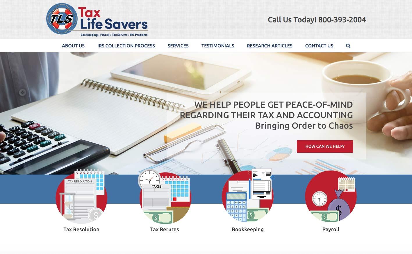 Tax Accountant Web Site