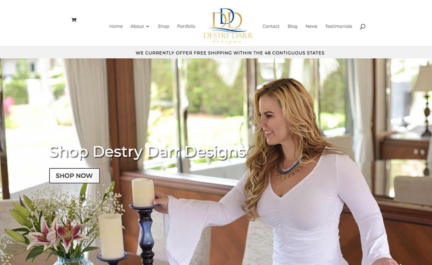 Shop Destry Darr Designs