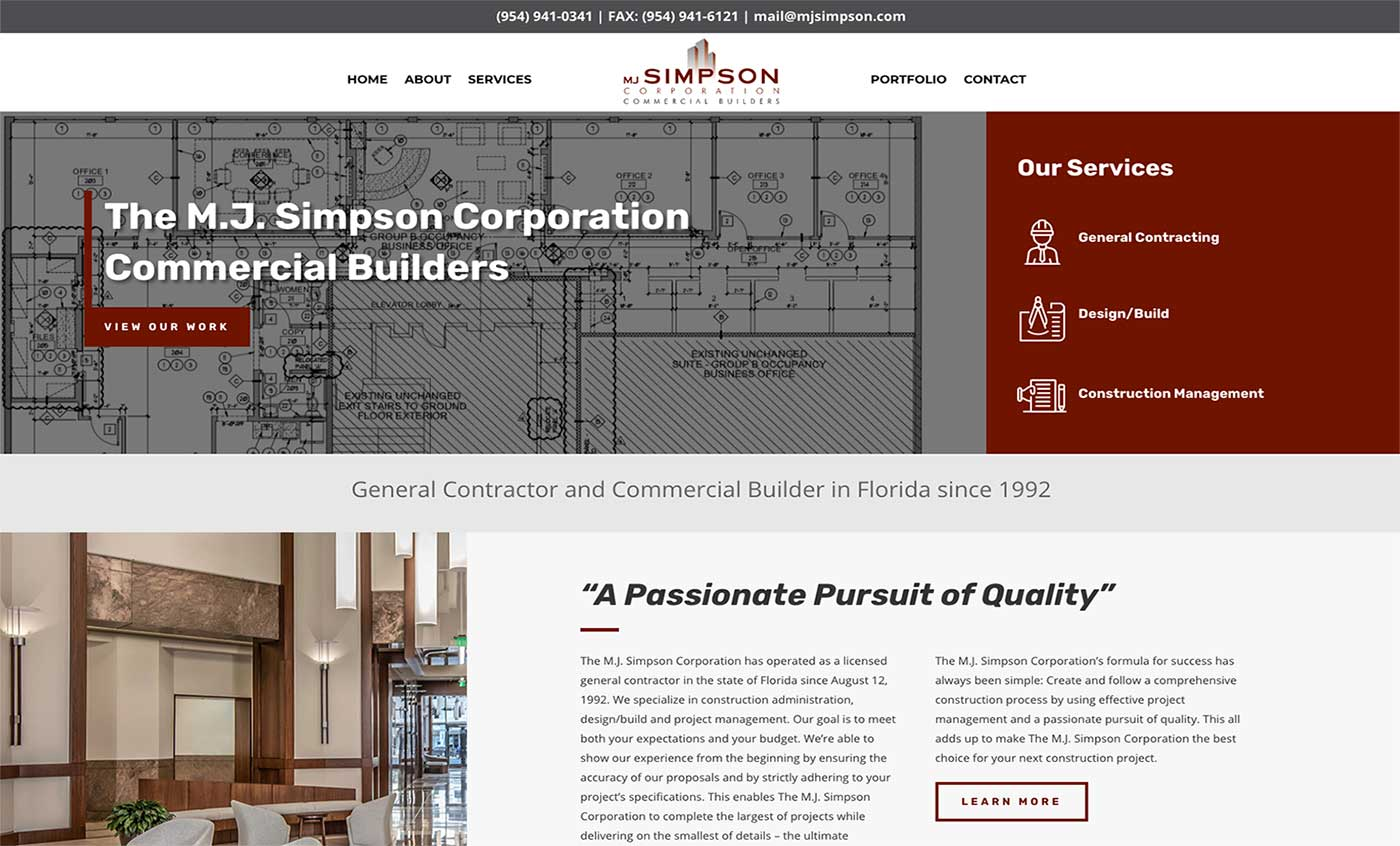 MJ Simpson Company GC